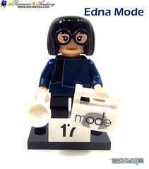17) Edna Mode (WhiteFang (Eurobricks)) Tags: lego minifigures cmfs collectable walt disney mickey characters licensed design personality animated animation movies blockbuster cartoon fiction story fairytale series magic magical theme park medieval stories soundtrack vault franchise review ancient god mythical town city costume space