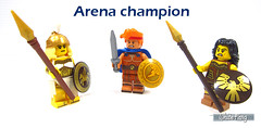Arena champion (WhiteFang (Eurobricks)) Tags: lego minifigures cmfs collectable walt disney mickey characters licensed design personality animated animation movies blockbuster cartoon fiction story fairytale series magic magical theme park medieval stories soundtrack vault franchise review ancient god mythical town city costume space