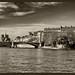 Enfilade de l'Ile Saint-Louis puis l'Ile de la Cité