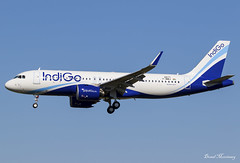IndiGo A320-200N F-WWIJ (VT-IZW) (birrlad) Tags: toulouse tls international airport france aircraft aviation airplane airplanes airline airliner airlines airways delivery new airbus arrival arriving approach finals landing runway indigo a320200n a320271n fwwij vtizw neo airtest aib01ij
