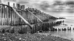 Sea Defences (photographybytomlane) Tags: leica leicasl monochrome sea blackandwhite