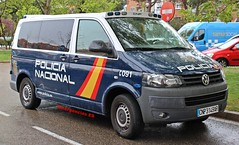 Policía Nacional (emergenciases) Tags: emergencias españa 112 vehículo madrid explosiónvallecas vallecas puentedevallecas volkswagen transporter cnp policíanacional gor grupooperativoderespuesta seguridad