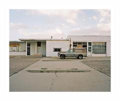 (iconicturn) Tags: walsenburg colorado unitedstates america usa analog analogue mediumformat film kodak portra mamiya7 mamiya 6x7 120 jeep abandoned empty