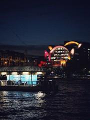 Festival Pier Terminal and Charing Cross (marc.barrot) Tags: urbanlandscape nightphotography thamespath riverthames uk se1 london lambeth southbank festivalpier