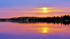 Serenity-001 (Bob's Digital Eye 2) Tags: bobsdigitaleye bobsdigitaleye2 canon clouds efs24mmf28stm flicker flickr lake lakesunsets lakescape landscape reflection sky sun sunset sunsets sunsetsoverwater water laquintaessenza