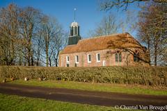 Kekje van Fransum (Chantal van Breugel) Tags: landschap cursuslandschapsfotografie frbfotografie fransum groningen kerkje schaduw februari 2019 canon5dmark111 canon24105