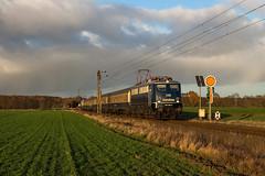 Centralbahn 110 278 - Estorf (Weser) (Pau Sommerfeld Acebrón) Tags: