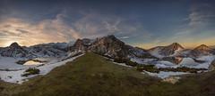 Espacios naturales de Asturias. Entrelagos. (Marce Alvarez.) Tags: nikon landscape paisaje asturias lagosdecovadonga miradordeentrelagos invierno amanecer