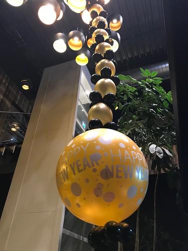 Ballonslinger Oud en Nieuw Watertuin Spijkenisse