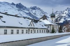 full of history (Tschissl) Tags: kirche switzerland berge landschaft engelberg winter schweiz schnee