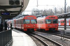2019-02-12, RBS, Worblaufen (Fototak) Tags: schmalspurbahn treno train railway sbahn bern switzerland mandarinli s7 56 55