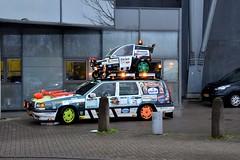 Start Carbage Run winter 2019 - Kopenhagen (FaceMePLS) Tags: kopenhagen copenhagen denemarken denmark scandinavië facemepls nikond5500 rally car voiture pkw wagen voertuig 1994volvo850turbo20vae2 carbageteam125 51xxt2
