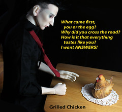 Favorite recipe (bentwhisker) Tags: doll bjd resin ringdoll k aimerai bellinathehen chicken 5905