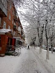 city of Podolsk. After snowfall (msergeevna) Tags: