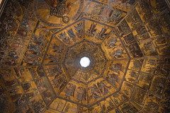 gold (unciclamino) Tags: florence monument pontevecchio lights candles church mosaic