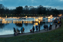 City of Light (John_Kennan) Tags: approved cityoflight cityofsanctuary liverpool seftonpark water lake thelanterncompany lanterncompany city park lights illumination colour color habitat public crowds
