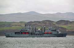 RFA Fort Victoria (Zak355) Tags: rfafortvictoria royalnavy navy naval ship shipping boat vessel bute isleofbute rothesay scotland riverclyde a387