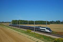 TGV inOui 6827 @ Corcelles-les-Arts (Wesley van Drongelen) Tags: sncf société societe nationale chemins fer français francais tgv grande vitesse lyria série serie br class type r tgvr réseau reseau inoui corcelles les arts meursault train trein zug