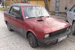 2002 Zastava Koral 1.3 Cabrio (FromKG) Tags: zastava yugo koral cabrio 13 red car kragujevac serbia 2019