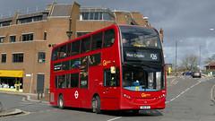 Euro 5 Express (londonbusexplorer) Tags: goahead london metrobus adl enviro 400 e222 sn61dfa x26 west croydon heathrow central tfl buses