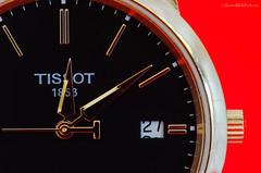 tissot (sure2talk) Tags: macromondays timepiece tissot swiss watch macro closeup red nikond7000 nikkor85mmf35gafsedvrmicro