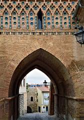 Decorative Arch (Jocelyn777) Tags: architecture buildings arch decoration mudejar streets teruel spain travel