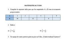 Matemáticas 2ºESO (Elena Foncubierta Vázquez) Tags: ejercicios matemáticas
