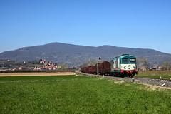 D445 1020 (Paolo Brocchetti) Tags: paolobrocchetti d445 treno ferrovia bahn rail merci verzuolo nikon d810 24120
