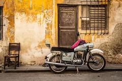 Motorbike in streets of Havana (dwb838) Tags: urbanlandscape street havana motorcycle