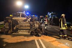 Verkehrsunfall B260 Schlangenbad 01.04.19 (Wiesbaden112.de) Tags: b260 crash feuerwehr nef notarzt pkw schlangebad traktor unfall verkehrsunfall überschlag