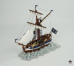 LEGO Numenorean sailship Eämbar (Barthezz Brick) Tags: boat ship sailboat sailship lotr middleearth middle earth lordoftherings tolkien mariners seamen fantasy medieval moc afol barthezz brick barthezzbrick lond daer