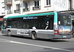 MAN Lion's City Hybrid A37 standard 12m, RATP/Régie Autonome des Transports Parisiens, with markings of Ile de France Mobilités, Arcueil-Cachan, 2019-03-20 (alaindurandpatrick) Tags: man lionscity manlionscity buses masstransit buslines ratp ratprégieautonomedestransportsparisiens masstransitcompanies iledefrancemobilités masstransitauthorities arcueilcachan 92 hautsdeseine iledefrance greaterparisarea france