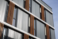 Cooney Architects _ Kilmainham Office and Training Centre _ 2018 _ Dublin _ Facade (SteMurray) Tags: approved cooney architects architecture ireland irish stemurray steie hairdressing school academia architectural photographer photography tall building shadows facade