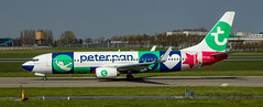 Transavia Boeing 737-800 Peter Pan Scheme. (Ratters1968: Thanks for the Views and Favs:)) Tags: flight flying fleugzeug aeroplane plane aeronautics aircraft avions aviation avioes aeronef transport airplane air jet canon7dmk2 martynwraight ratters1968 canon dslr photography digital eos boeing seattle washington theboeingcompany boeingfields painefield everett williamboeing schiphol amsterdam netherlands polderbaarn airport international civilaviation passengerairliner holland airliner pax passenger dutch boeing737800 737800 transavia peterpan klm skyteam royaldutchairlines klmairfrance koninklijkeluchtvaartmaatschappijnv amstelveen martinair