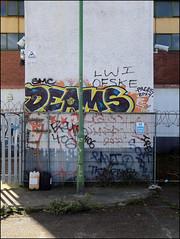 Deams (Alex Ellison) Tags: deams trackside northlondon urban graffiti graff boobs
