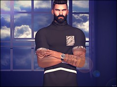 ♔ LoTd 400 (Victoria Michigan) Tags: lush poses tmj event the men man jail gloom prisma lob letis tattoo magnificent gaeg sl second secondlife blogger blog life
