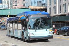 IMG_5112 (GojiMet86) Tags: mta nyc new york city bus buses 2018 xd40 7666 subway shuttle jackson avenue crane street