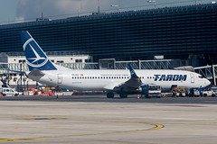 Tarom 737-800 (Martyn Cartledge / www.aspphotography.net) Tags: 737800 aerodrome aeroplane air airbus aircraft airline airliner airplane airport aspphotography avgeek avgeeks aviation boeing cartledge civilairline civilairliner flight fly flying flywinglets jet martyn plane runway tarom toulouse transport wwwaspphotographynet wwwflywingletscom yrbgl asp photography