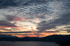 Nature's Canvas (Ben-ah) Tags: 日夜潭 sunset sky landscape sunmoonlake taiwan lake dusk clouds travelphotography