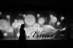To X'mas♡ (reiko_robinami) Tags: street streetphotography silhouette lightandshadow christmas oneperson outdoors woman urban window monochrome blackandwhite tokyo japan