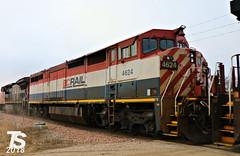 BC Rail 4624 (C40-8M) (KansasScanner) Tags: iowafalls alden iowa williams cn bcol train railroad cic