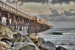 Pier 064-12-20-18 (rod1691) Tags: oceanside california beach surf rocks pier clouds hdr