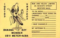 000619 (myQSL) Tags: cb radio qsl card 1970s