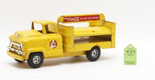 Buddy L Coca Cola delivery truck ($134.40)