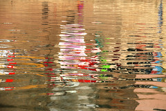 Water reflections... ( Varanasi) (Zé Eduardo...) Tags: reflections ganges river varanasi colors india asia uttarpradesh