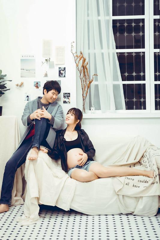 孕婦照,孕婦寫真,浪漫唯美,時尚慵懶,雜誌風格孕婦寫真,邱永漢Han