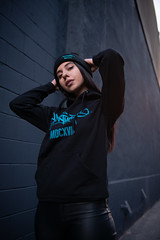 I don't need love. (Patrick.Younger.Photography) Tags: teal portrait portraiture street urban fashion fortunatio streetwear urbnet rapper canada ontario swag merch styles female natural lighting toronto photographer creative lifestylee lifestyle photography