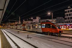 4024 032-7 ÖBB S-bahn Innsbruck Hbf 31.01.19 (Paul David Smith (Widnes Road)) Tags: 40240327 öbb sbahn innsbruck hbf 310119 4024