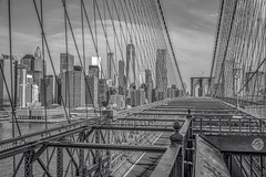 Brooklyn Bridge BW (lesly_valdez) Tags: nyc newyorkcity brooklynbridge brooklyn bw landscapephotography landscape nikond750 cityscape citylights