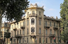 Art Nouveau / Liberty style in Torino (Sokleine) Tags: fenoglio casalafleur architecture artnouveau libertystyle liberti corsofrancia heritage historic torino turin piémont piemonte italia italie italy europe